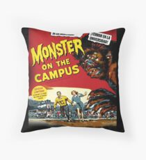 monsters on campus! Throw Pillow