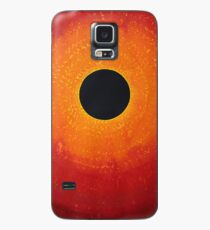 Black Hole Sun original painting Case/Skin for Samsung Galaxy