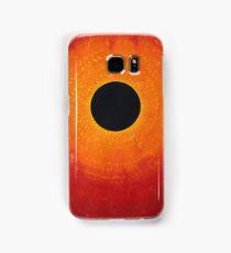 Black Hole Sun original painting Samsung Galaxy Case/Skin