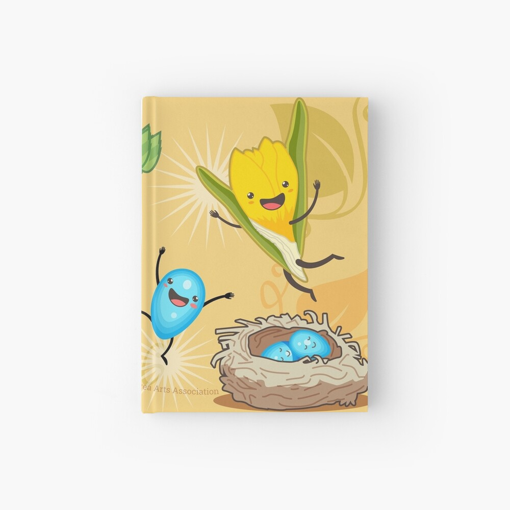 Wisconsin + Spring = Happiness Hardcover Journal