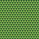 Zelda - Triforce Pattern by nintendino