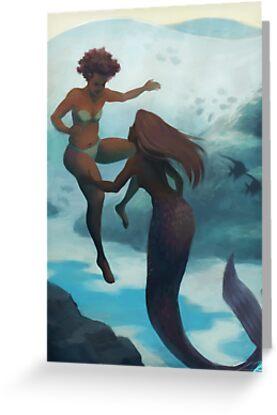Ich verliebte mich in eine Meerjungfrau von Kirstendraws