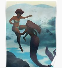 I Fell in Love With a Mermaid Poster