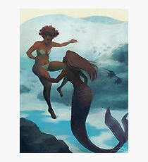 I Fell in Love With a Mermaid Photographic Print