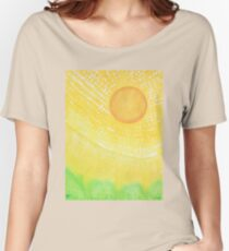 First Light original painting Women's Relaxed Fit T-Shirt