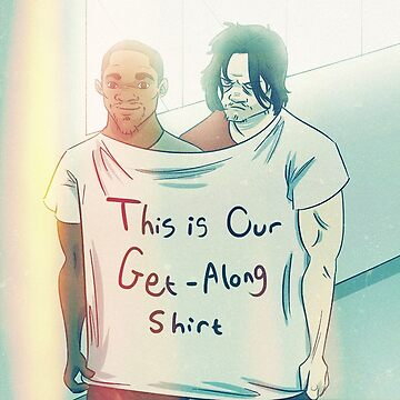 Bucky and Sam's Get-Along Shirt by ShiraK