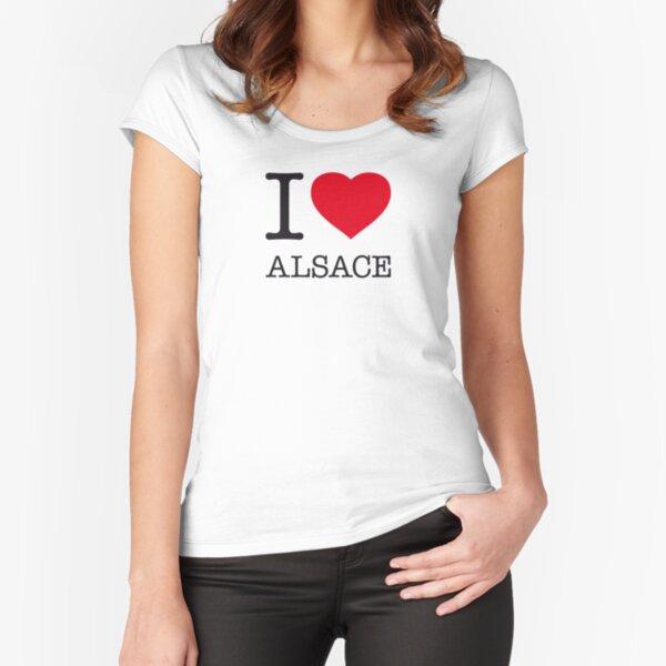 I LOVE ALSACE T-shirt échancré