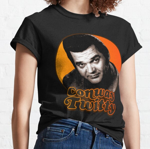 Conway Twitty ))(( Retro Country Legend Design Classic T-Shirt