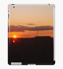 Sunset over Royston iPad Case/Skin