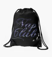 Nap Club Drawstring Bag