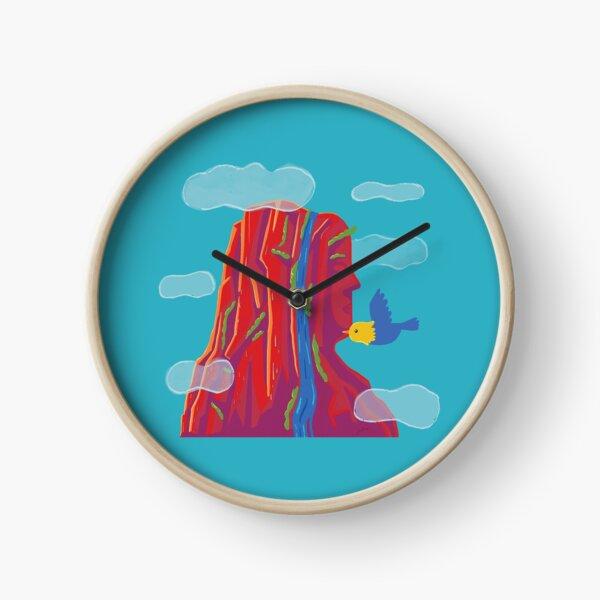 Mountain Meditation Clock