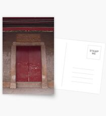 Chinese gate Postcards