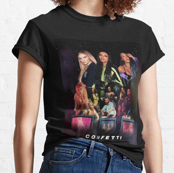 Black Montage Photo Women/'s Small T-Shirt Little Mix
