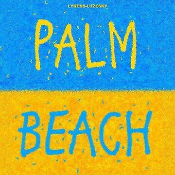 PALM BEACH towel shirt by lykens-luzesky