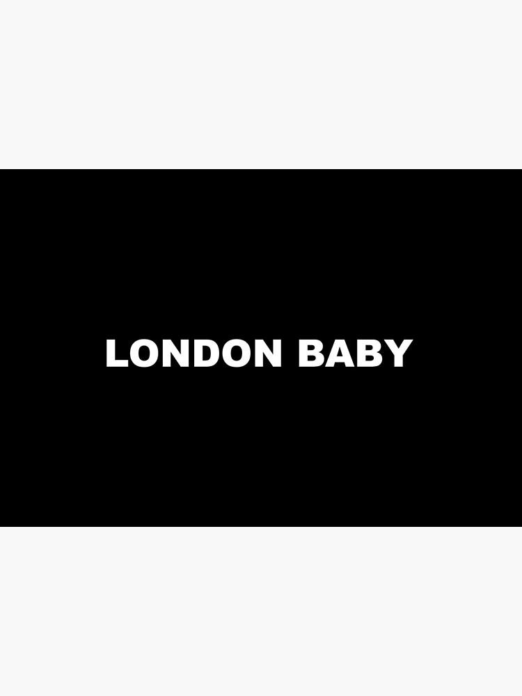 London Baby Andrei Lucas merch by andreilucas