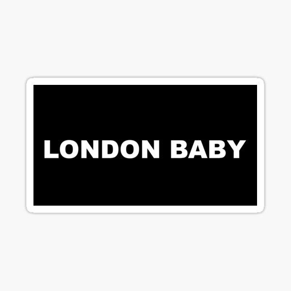 London Baby Andrei Lucas merch Sticker