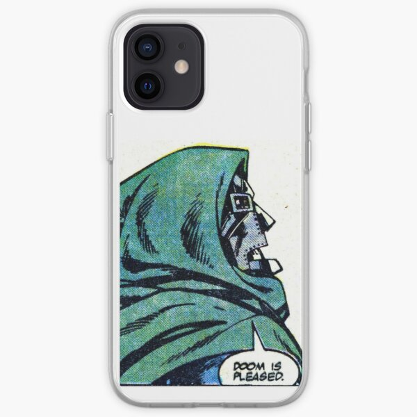 MF DOOM iPhone Soft Case