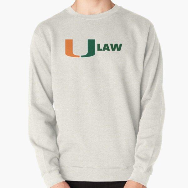 University Of Miami Law Pullover Sweatshirt