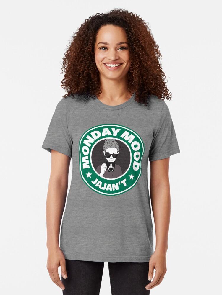 Vista alternativa de Camiseta de tejido mixto Monday mood: JAJAN´T