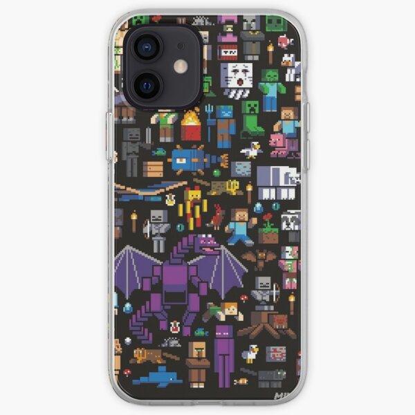 Minecraft Mob Coque et skin iPhone Coque souple iPhone