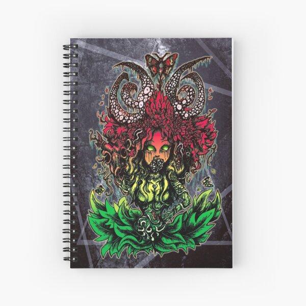 Flower girl, absurd art Spiral Notebook