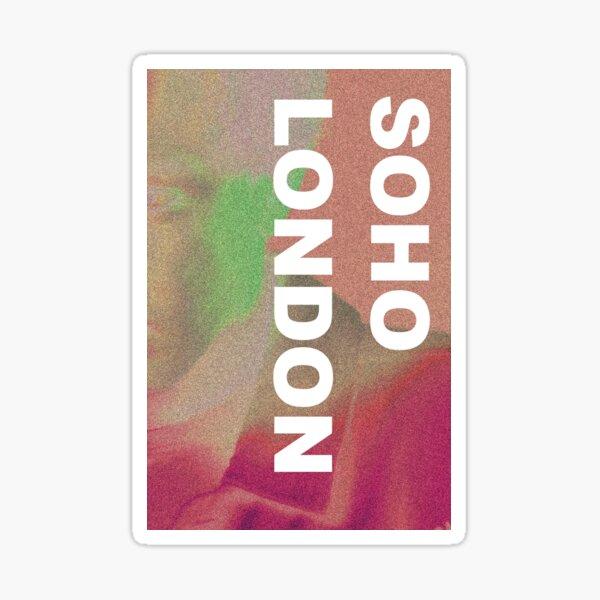 SOHO LONDON ANDREI LUCAS ALBUM MERCH Sticker