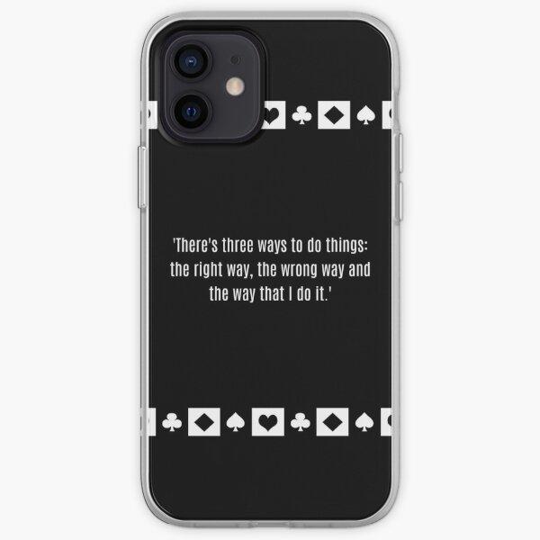 Robert De Niro Casino quote Sam Ace Rothstein iPhone Soft Case