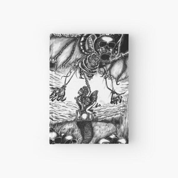 Back pain, absurd art Hardcover Journal
