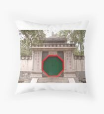 Chinese Gate Throw Pillow
