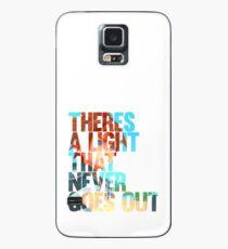 Funda/vinilo para Samsung Galaxy Hay una luz que nunca se apaga ver.2