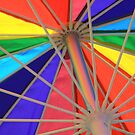 An Umbrella Of Color by CarolM