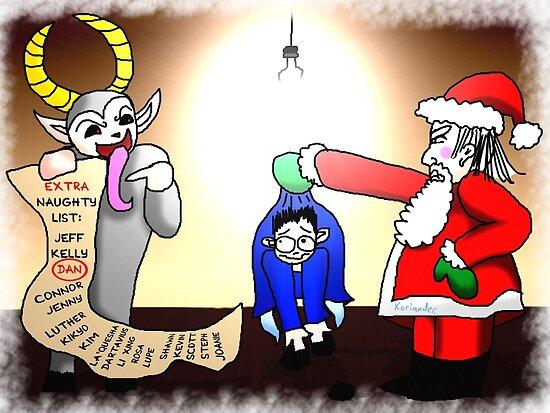 A naughty interrogation