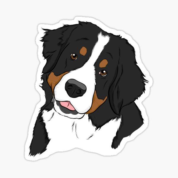 Bernese Mt. Dog  Sticker