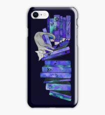 FanGirl Bookshelf Purple iPhone Case/Skin