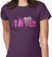 Literary Naps Womens Fitted T-Shirt