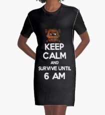Five Nights at Freddy's Graphic T-Shirt Dress