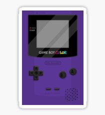 Gameboy Color 2.0 - Purple Sticker