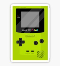 Gameboy Color 2.0 - Green Sticker