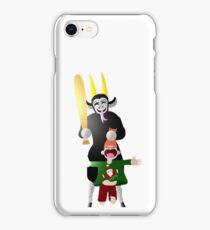 Paper Krampus iPhone Case/Skin