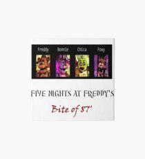 Five Nights at Freddy's: Bite of 87' Art Board
