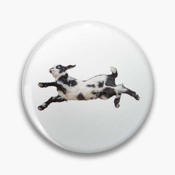 Bouncing Baby Goat IV Pin