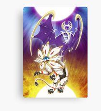 Pokemon - Solgaleo and Lunala Canvas Print