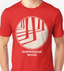 Norwegischer Holz-Murakami Slim Fit T-Shirt