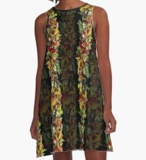 Hawaiian Haku Lei A-Line Dress A-Line Dress