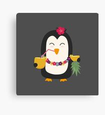Hawaii Penguin   Canvas Print