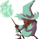 Bean Wizard - Teal and Brown by Matthew Smallwood