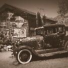 Route 66 Hackberry Vintage Processed by Suzi Harbison