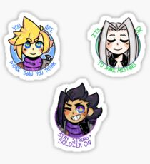 Positive Hero Set Sticker