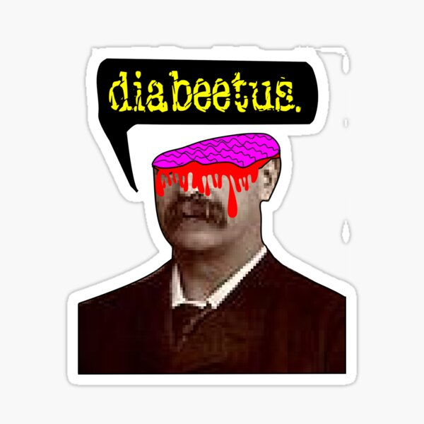 Wilford Brimley - Final Destination: Diabeetus Sticker