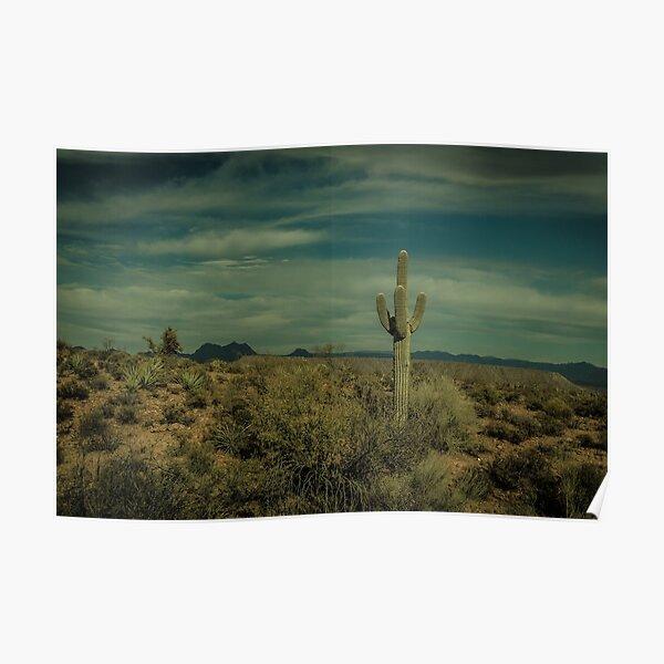 The Lone Cactus Dragan Light Poster